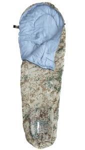 A. Blöchel Extra Langer großer Camping Outdoor Mumieschlafsack Schlafdecke Länge: 230 cm Farbe Tropentarn