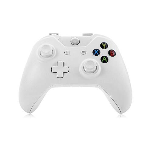 OUHUI Xbox Un Contrôleur Gamepad Manette De Jeu Wireless Gaming Controller Manette Playstation Xbox One/S/X Manette De Commande Manette/blanc