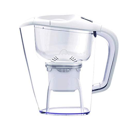 Adesign 3.5 L Filtro de Agua Jug Blanco Kettle Kettle Hogar Filtro de Cocina Kettle Purificador de Agua Rebabajo Recto Taza de Agua Portátil Filtro