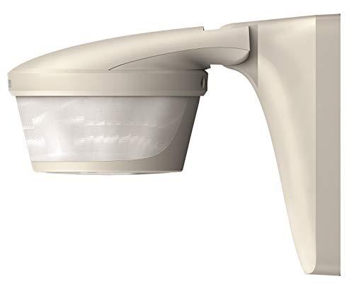 Theben 1010605 theLUXA P220 WH Bewegungsmelder für den Außenbereich, 220° Erfassungsbereich, Bewegungssensor, weiß
