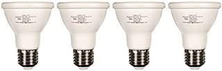 ALZO 8W (75W) Joyous Light Dimmable LED Full Spectrum PAR20 Spot Light Bulb 5500K Bright White Daylight, 650 Lumens, 120V, Pack of 4