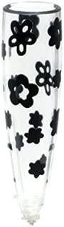 VW Flower Vase with Black Flowers