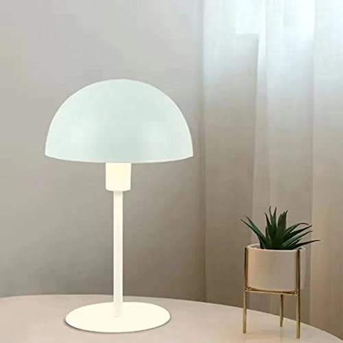 Lámpara de mesa de setas metálicas minimalistas LED Eye Protect pequeña mesa luz para mesa dormitorio estudio lectura lámpara de noche