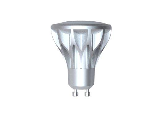 Ampoule LED spot, culot GU10, 5,6W cons. (50W eq.), lumière blanc chaud