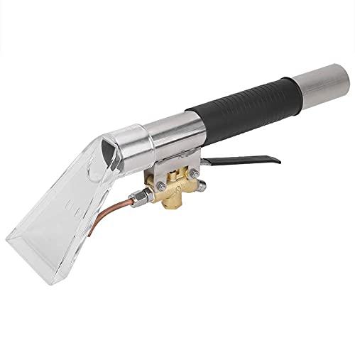 SODIAL Testa del Pulitore Un Vapore Estrattore per La Pulizia dei Tappeti Tappezzeria per La Pulizia dei Tappeti Testa 'Estrattore per Utensili Manuali Un Vapore Ad Alta Temperatura