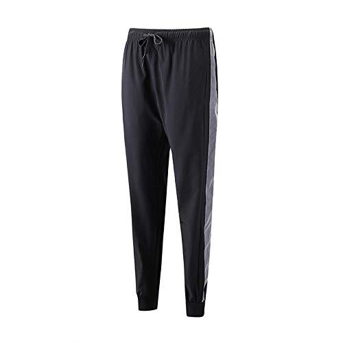 TIGERROSA EIS Seide Sommer dünne Sport Fitness lässig weites Bein Hosen Yogahosen @ Armee grün XL einfarbig EIS Seidenhose