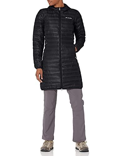 Columbia Women's Flash Forward Long Down Jacket, Black, Large