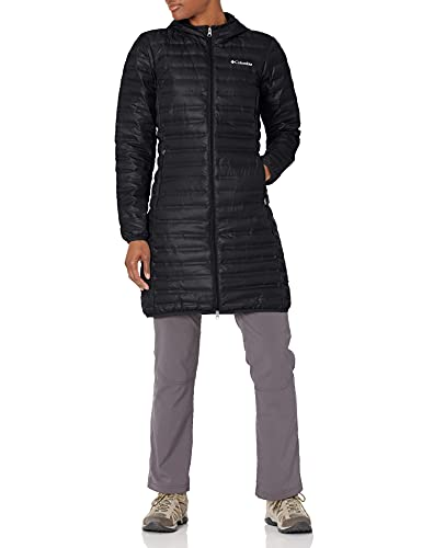 Columbia Women's Flash Forward Long Down Jacket, Black, Small