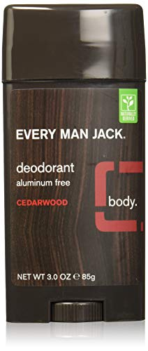 Every Man Jack Aluminum Free Deodorant Cedarwood Pack of 2