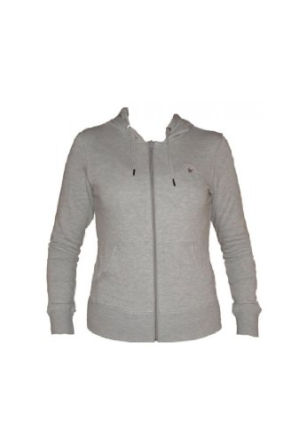 Converse CT Patch Basic Sweatjacke XS, grey