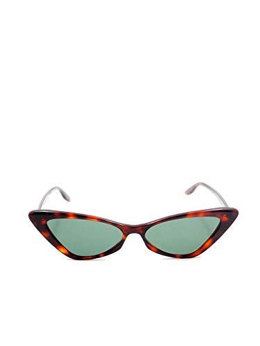 Gucci GG0708S003 - Gafas de sol de acetato marrón para mujer