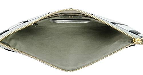 Georgia Clutch & Abendtasche, Silber