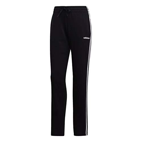 adidas Damen W E 3S PANT OH Sport Trousers W E 3S PANT OH, black/White, S/L (Herstellergröße: S/L)