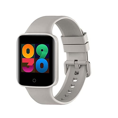 E8 Bluetooth Smart Watch, Ritmo Cardíaco En Tiempo Real Y Medición De Temperatura Smartwatch Ladies Y Brazaletes Inteligentes para Hombres (para iOS Android),B