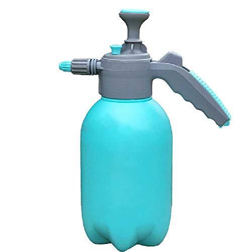 qwe 2L-Sproeier Met Verstelbare Roterende Sproeier, Draagbare Druk Tuinvernevelaar Flessenketel, Plantenbloemen Gieter Drukspuit Tuingereedschap blauw