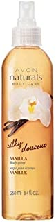 Avon Naturals Vanilla Body Spray 8.4 oz - Aromatherapy Scented with Pure Warm Vanilla, Sunflower, Grapeseed