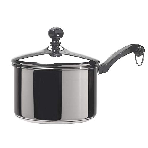 Classic Stainless Steel 2-Quart Covered Saucepan