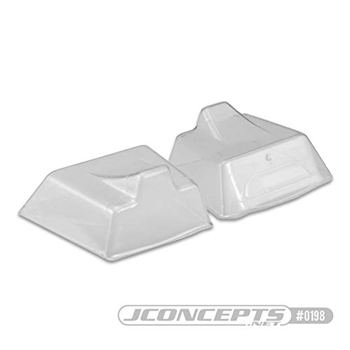 J Concepts Inc. 1/8 Clear Front Scoop (2): HB D817, V2 E817, JCO0198