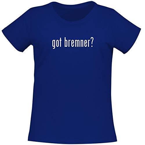 got bremner? - Women's Soft Comfortable Short Sleeve T-Shirt, Blue, XX-Large