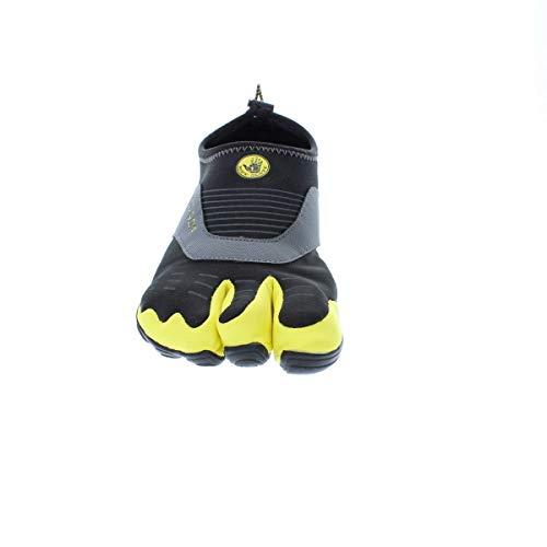 Body Glove Men's 3t Cinch-m Water Shoe, Black/Yellow, 9