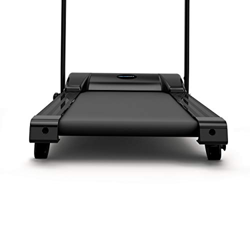 PrestigeSports XMPRO Dynamic Blue Tooth Treadmill - 2019 Model Motorised Running Machine, Powerful Motor, 14KPH Speed, Speakers, 3 Level Manual Incline, 17 Program, Pulse, BMI,
