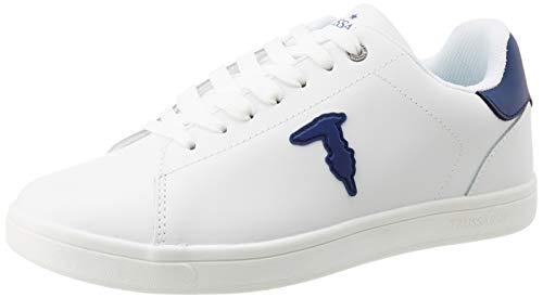 Trussardi Jeans Herren Sneaker ECOLEATHER Rubber PATC Oxford-Schuh, W708, 41 EU