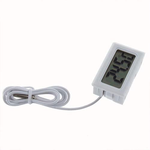 NAttnJf Thermometer kühlschrank LCD Kühlschrank Gefrierschrank Kühlschrank Digital Thermometer Temperatur -50 bis 110