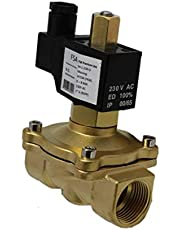 "Magneetventiel FSA Premium Line 2/2-weg messing G1"" 230V AC Viton NO 8 bar"