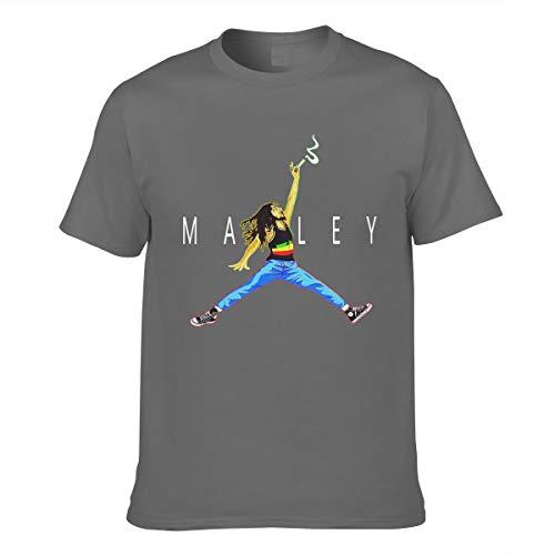 Herren Marley Art Flag Bob Logo Bekleidung T-Shirt Kurzarm XL Tee T Shirt Rundhalsausschnitt Sommer Tshirt Für Männer
