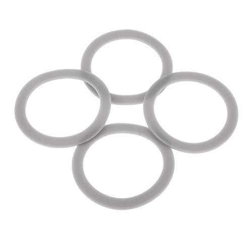 DreLD 8 x 66 mm Mixer-Gummidichtung, O-Ring-Dichtung, Ersatzteil # 132812-07, Ersatzteil für Black & Decker Modelle BL1900 BL3900 BL4900 BL5000 BL5900 BL6000 BL9000 (8 Stück)