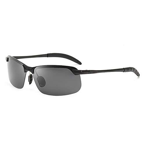 LOVSE Gafas de sol fotocromáticas para hombre polarizadas conducción camaleón gafas hombre cambio de color gafas de sol día visión nocturna conducción gafas