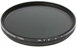 Nikon Z7/Z6 24-70 レンズキット用 互換可変ND(ND2~ND400) フィルター 72mm