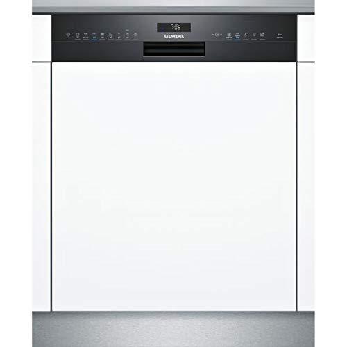 Lave vaisselle encastrable Siemens SN558B09ME - Lave vaisselle integrable 60 cm - Classe A++ / 42 decibels - 14 couverts - Noir bandeau : Noir - Tiroir a couvert