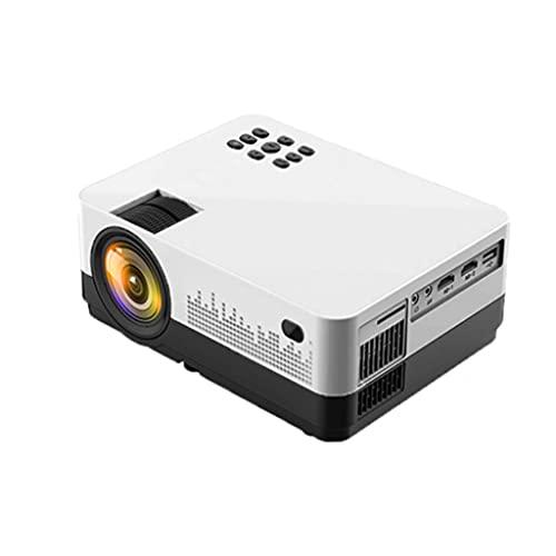 YUTRD CUJUX Proyector LED Mini Micro Proyector de Video HD portátil con USB para Juegos, películas, Cine, Cine en casa (Color : Style Two)
