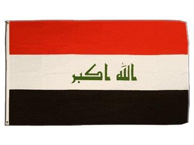 Flagge Irak 2009-90 x 150 cm