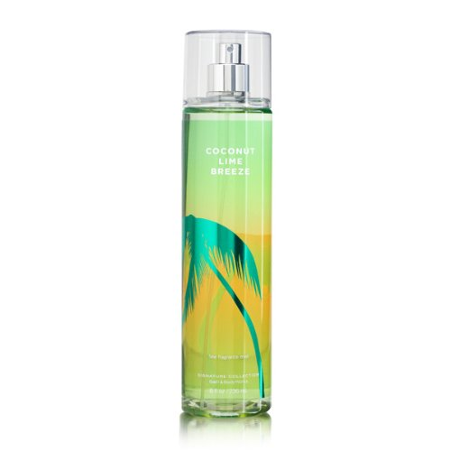 Bath & Body Works Signature Collection Fragrance Mist Coconut Lime Breeze 8 oz / 236 ml by Limited brands