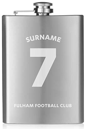 Personalisierbarer Flachmann mit Fulham-FC-Trikot