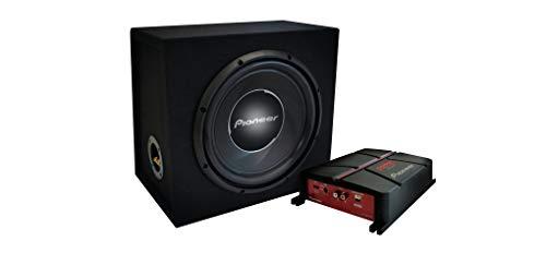 Pioneer GXT-3730-B - Amplificatore più subwoofer, Set di 2