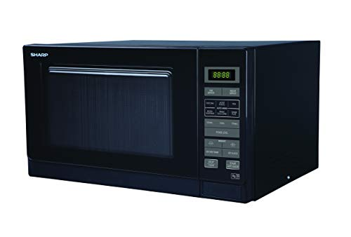 Sharp R372KM Solo Touch Control Microwave, 25 Litre capacity, 900W, Black