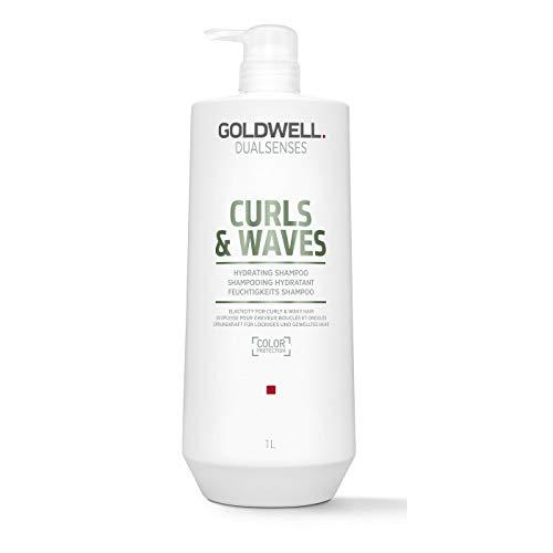 Goldwell Dualsenses Curls & Waves Hydrating Shampoo - für lockiges und gewelltes Haar, 1000 ml