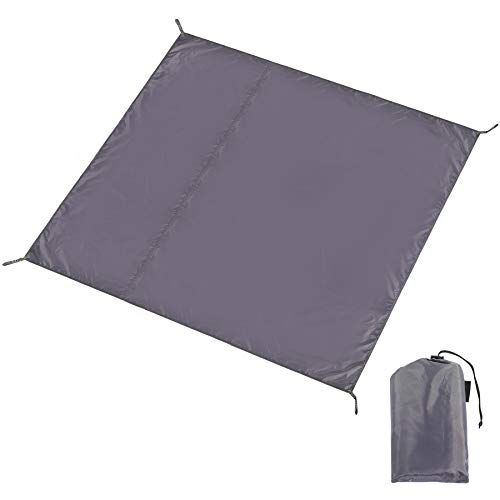 CAMPMOON Waterpfoof Camping Tarps 10x10 Feet, Large Oxford 4 in 1 Tent Footprints Ultralight Compact Ground Cloth for Camping Backpacking