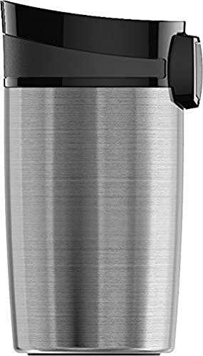 SIGG Miracle Brushed Taza térmica (0.27 L), termo para café aislante y sin sustancias nocivas, vaso térmico y hermético de acero inoxidable