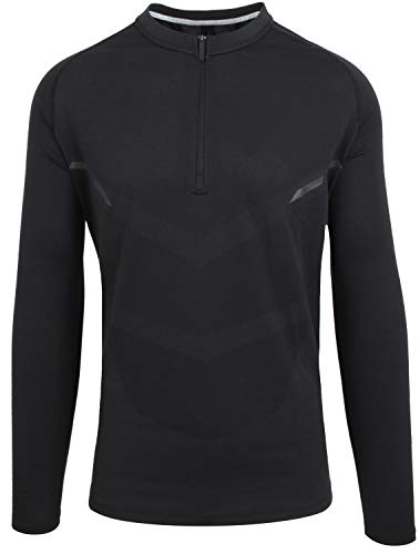 Porsche Design Performance Herren Funktionsshirt Sweatshirt Sport Shirt Schwarz XL