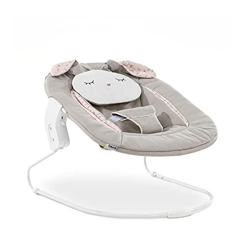 accesorio para trona alta bebé Alpha Bouncer 2 en 1 / apto desde el nacimiento/con cojín/compatible con trona de madera Alpha + y Beta + / Powder bunny/beige
