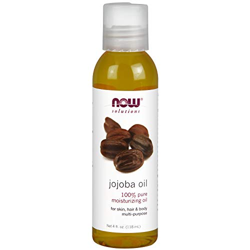 Now Solutions, Jojoba Oil, 100% Pure Moisturizing, Multi-Purpose Oil for Face, Hair and Body,...