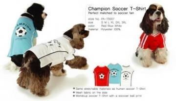 Puppy Angel Champion Soccer T-shirt