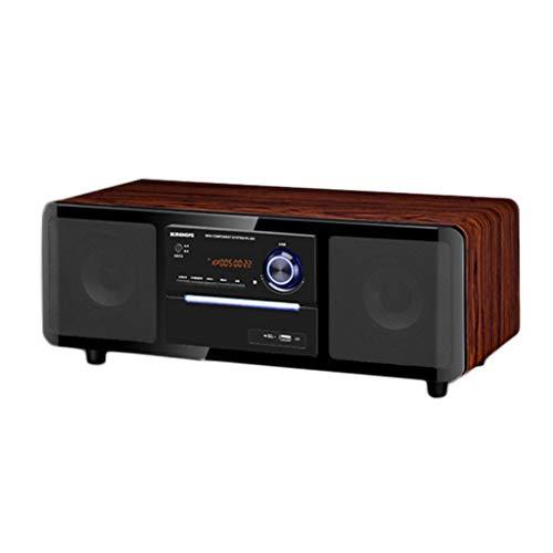 Duor Home Draagbare cd-speler, draadloze bluetooth-radio-audio-dvd-/cd-speler-audio-desktopluidspreker