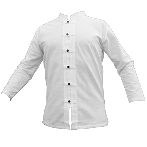 Fisher-Shirt RZI-01, white, XXXL, longsl.