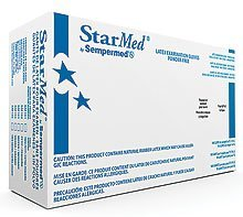 Sempermed Starmed Latex Powder-free Examination Gloves 10 Boxes/case