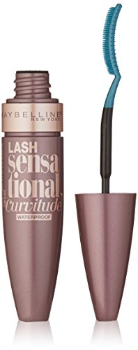 Maybelline Mascara Sensational Curvitude Waterproof, color Negro